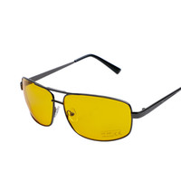 Wholesale drivers safety for sale - Group buy Fashion Yellow Lenses Glasses Men Gafas de sol Anti Glare Vision Driver Safety Driving Sunglasses Men oculos de sol masculino