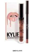 Wholesale Blue Lipsticks - 38 color KYLIE JENNER LIP KIT liner Kylie Lipliner pencil Velvetine Liquid Matte Lipstick in Red Velvet Makeup Lip Gloss Make Up