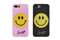 Wholesale Shell Duck - For iphone 7 I7 iphone7 6 6S Plus 5S SE Case Soft Silicone Cartoon Smile Animals Duck Dog Rubber Dopopstyle Cover Skin Shell jelly Luxury