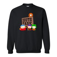 Cardigan paisley park - Fashion Autumn Cotton Pattern Mens Clothing Cartoon Sitcoms SOUTH PARK Sweatshirt With Long Sleeve Fleece Hoodies Sweatshirts
