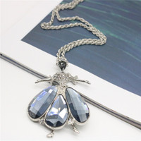 Wholesale Ballet Dance Gifts - Fashion Fine Necklace Grey Crystal Ballet Dancing Girl Necklaces & Pendants Silver Plated Necklaces For Women Long Necklace