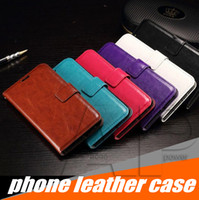 Wholesale photo pouches - Wallet PU Leather Case Cover Pouch with Card Slot Photo Frame for Iphone X 10 8 7 Samsung Galaxy Note8 S9 S8 Plus
