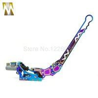 Wholesale Audi Brake Kits - NEW ALUMINUM HYDRAULIC PERFORMANCE EMERGENCY JDM HAND BRAKE LEVER ARM