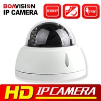 Wholesale Outdoor Vandal Dome Camera - HD 1080P 2MP Dome IP Camera POE Outdoor Vandal-proof Night Vision IR-CUT 4x Zoom 2.8-12mm Lens Dome Network IP Camera Security