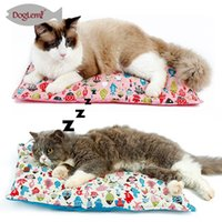 Wholesale Cat Beds Free Shipping - Free Shipping!!Small Cushion Pillow Pet Bed Cat Linen Mat