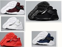 Wholesale Back Future Sneakers - 2017 Air KWAZI Back To the Future Shoes mans And Women Running Shoes Boots Sneakers Trainers Athletic Casual Sport Shoes 36-45