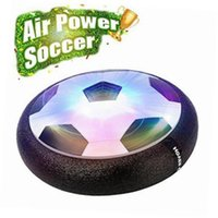 Wholesale Glide White - New Arrival 1 pieces Air Power Soccer Ball Colorful Disc Indoor Football Toy Multi-surface Hovering and Gliding Toy