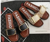 sexy rivet sandals 2018 - women's Slippers fashion rivets shoes girls sexy pointed toe Flat shoes buckle platform pumps wedding shoes sandals European shoe size:36-40