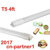 Wholesale T5 Super White - fast ship T5 LED tube lights G5 1200mm 1.2m 4FT SMD2835 20W 2400lm lamps Super bright T5 led tubes light AC 85-265V