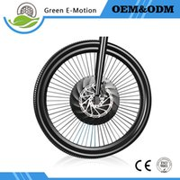 Wholesale Electric Bike Controller 36v - Micro power wheel electric bicycle intelligent accessories Mountain Refit Front wheel E-bike motor with battery and controller