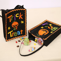 Wholesale Bamboo Shopping Bags Wholesale - New Halloween decoration products creative Halloween pumpkin gift bag shopping mall Halloween gift bag