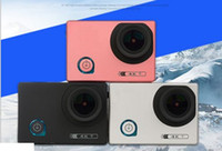 Wholesale soocoo online - High quality F80 K WiFi Sport Action Camera Degree Diving Mode Night Scene NTK96660 inch Screen waterproof camera