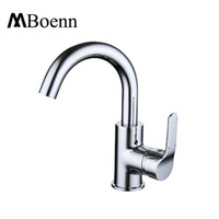 Wholesale Ceramic Bathroom Wash Basin - Bathroom Faucets Mixer 360 Degree Rotate Easy Wash For Basin Faucet Kitchen Brass Chrome Water Tap Hot Cold Spool