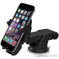 Wholesale Touch Car Mount Holder Universal Degree Phone Holder for iPhone7 s Plus s s c Samsung Galaxy S7 Edge S6 S5 Note
