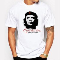 Wholesale Che Guevara Shirts - Short sleeve Cotton che guevara revolution printed men t-shirt casual o-neck men's T-shirt female tee shirt men Tshirt