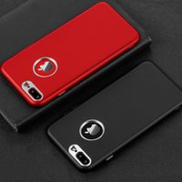 Wholesale Metal Back Bumper - Phone Case For iPhone 7 Plus Soft Silicone + Metal Bumper Case On The For Apple iPhone 6 6S 8 Plus X I6 I7 Back Cover Coque Shell