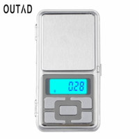Wholesale 2017 Newest gx0 g Mini Digital Scale g Portable LCD Electronic Jewelry Scales Weight Weighting Diamond Pocket Scales