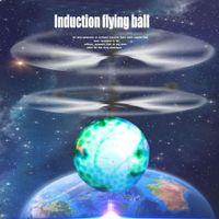 helicóptero verde al por mayor-Al por mayor- JJRC divertido verde inducción RC Flying sensor Ball Drone Helicopter Ball Incorporado Shinning LED linternas juguete dropshipping AG4 p30