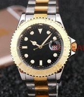 Wholesale Shark Analog Watches - luxury fashion brand mens women of the New date steel automatic movement quartz clock male hubnessingly diamond watch watches