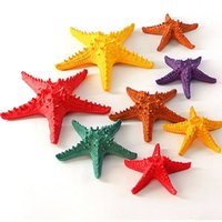 Wholesale Antique Garden Ornaments - Little Starfish Ornaments Colorful Hanging Modern Decor Home Decor Beach Themed Garden Decor For Holiday Season