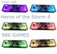 Wholesale Heros Games - Street Fighter Upgrade version, Heros of the Storm 4 ,986 games,HDMI out,home arcade , the latest global exclusive sale equipment.