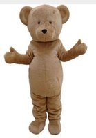 Wholesale New Grizzly Bear Mascot Costume - best selling new Mascot Costume Masha and Bear Mascotte Ursa Grizzly Cartoon Character Mascot Costumes Masha and Bear Adult Mascotte