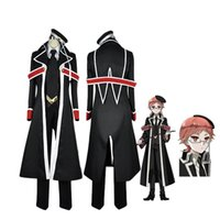 Wholesale Top Anime Cosplay Costumes Female - Coshome Oushitsu Kyoushi Haine Cosplay Suits Costumes The Royal Tutor Heine Wittgenstein Men Adult Uniforms Teachers Tops Pants