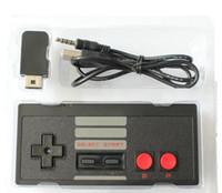 мини-контроллер bluetooth для геймпада оптовых-Беспроводные контроллеры для NES CLASSIC MINI Bluetooth джойстики игровой контроллер геймпад с Wrireless приемник для IOS Android PC