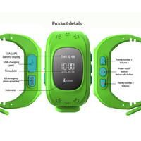 relojes de pulsera gsm al por mayor-2017 Q50 reloj inteligente niños niños reloj de pulsera inteligente Q50 GSM GPS LBS SOS Anti-Lost SmartWatch Guardia Infantil para iOS Androidd DHL envío gratis