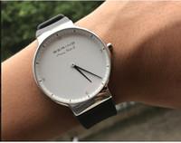 роскошные ультратонкие часы оптовых-Новый бренд часы любители кварцевые часы роскошные водонепроницаемый плавать Женщины Повседневная наручные часы ультратонкий силиконовый ремешок feminino часы
