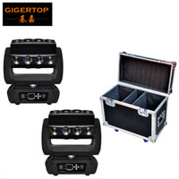 Wholesale Moving Head Lights China - China Flightcase 2IN1 Pack with Wheels 16 Head Led Moving Head Spider Light LCD Display Ultimate Rotation LED Individual Control