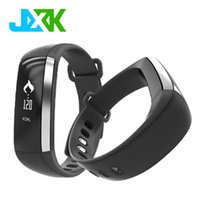 Wholesale black fitness models - Wholesale- Hot Model Smart Band JXK2 Heart Rate Monitor Blood Pressure Wrist Watch Intelligent Bracelet Wristband Fitness Tracker Pedometer