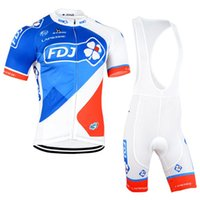 FDJ Pro Cycling Jersey Ciclo Roupa Bicicleta Sportwear Ropa Ciclismo MTB Bike Vestuário maillot Mountain Wear C2925