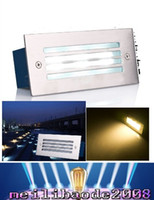 Wholesale Taiwan Ac Led - NEW 110*45mm smd5730 outdoor recessed lights 3w floor lamp 110-120lm w taiwan led epistar FREE SHIPPING MYY