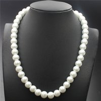 Wholesale Plastic Gold Rope Necklace - In 2017 the new high-end wedding dinner high-grade popular women's fashion natural pearl cm necklace