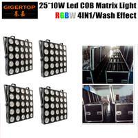 Wholesale Full Color Matrix Led - 5x5 Matrix RGBW LED Common Anode Full Colour LED 50*50mm Colorduino Compatible 4IN1 Color Mixing Slim Shape 4in1 Roadcase Pack