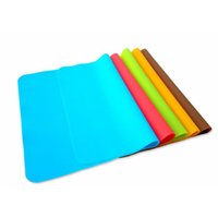 Wholesale kids cooking tools resale online - Silicone Mats Baking Liner Silicone Oven Mat Heat Insulation Pad Bakeware Kids Foods Mats Cooking tools Book Mat