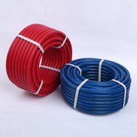 oxygen acetylene hose - Oxygen Acetylene Rubber Hose Corrugated Surface Multiple Fiber Braid Gas Welding Cutting single line hose tube