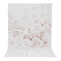 3x5ft Vinyl White Rose Wood Wall Floor Photography Background For Studio  Photo Props Photographic Backdrop Cloth 1 X 1.5m