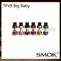 pair design - Smok TFV8 Big Baby Tank ml Top Refill TFV8 Big Baby Cloud Beast Atomizer Re designed Bottom Pair air slots Original