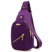 Wholesale Open Chest Women - Wholesale- 2015 New Women Canvas Chest Bags Casual Crossbody Bags for Women Ladies Small Cross Body Shoulder Bags M726