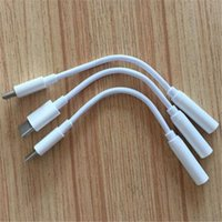 Wholesale Dc Cable Connectors - 12cm type c to 3.5mm DC jack audio adpater earphone connector sync data converter cables for letv 2 letv 2 pro max2 macbook
