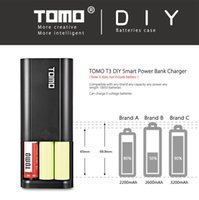 Wholesale E Cigarette Charging Case - Original TOMO M2 M3 M4 T3 T4 Smart Power Charger Case 2A Max output DIY E-Cigarettes Power Charger For Authentic 18650 Batteries Charging