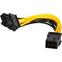 pci e express toptan satış-En iyi kalite 6 pin 8 pin PCI Express Güç Dönüştürücü Kablosu için GPU Video Kartı PCI-E yeni