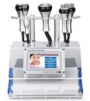 máquina bipolar do emagrecimento da cavitação da lipoaspiração venda por atacado-Máquina gorda do emagrecimento do corpo da remoção das celulites da perda do vácuo ultra-sônico bipolar da cavitação do Lipoaspiração do RF