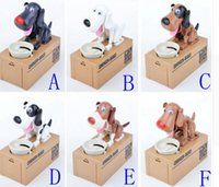 Wholesale Dog Steal Coin - Robotic Dog Banco Canino Money Box Money Bank Automatic Stole Coin Piggy Bank Money Saving Box Moneybox Gifts for kid