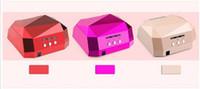 lâmpada de uva ultravioleta venda por atacado-36 W UV LED Ultravioleta Lâmpada Prego Secador de Lâmpada Em Forma de Diamante CCFL Cura para Unhas de Gel UV Polonês ferramentas