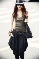 Wholesale Women Harem Pants Korea - Fashion Black Harem Pants Clubwear Women's Loose Trousers Korea Pants Capris