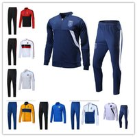 Wholesale Men Italian Pants - HOT sale Italian national team JACKET KIT 2017 2018 JUV INTER jacket WITH PANTS BONUCCI DYBALA 17 18 AC milan jacket FULL SET SweatWEAR