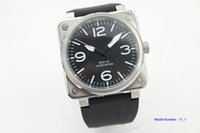 Wholesale power reserve - new Automatic Self-Wind movement power reserve men's watch Auto Date Mechanical watches br06